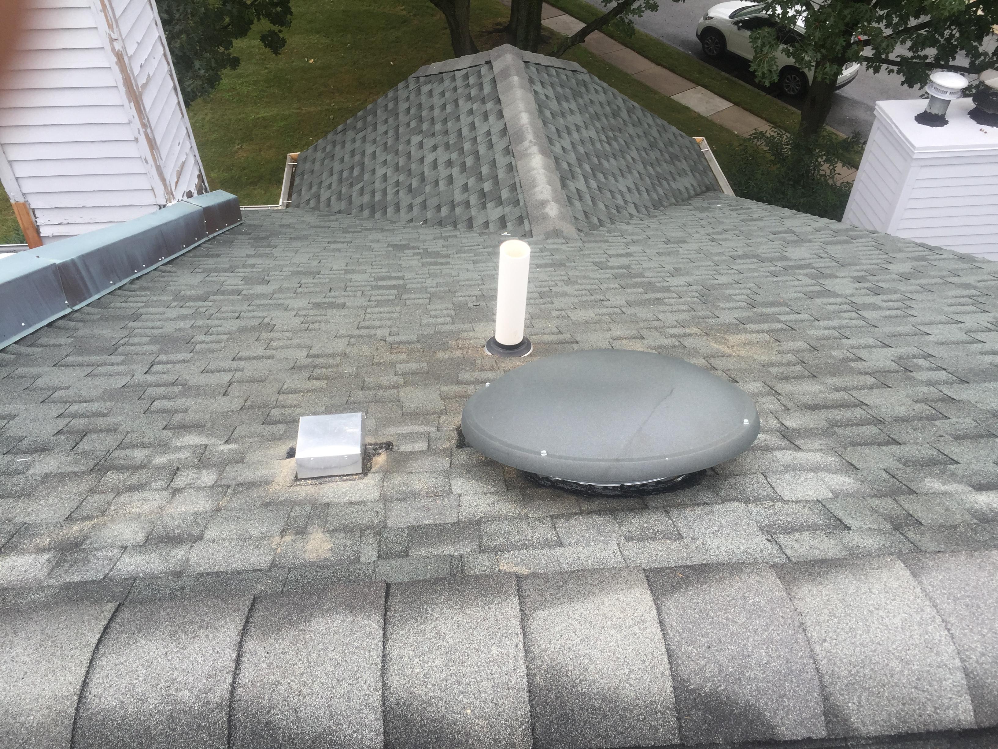 attic fan installation