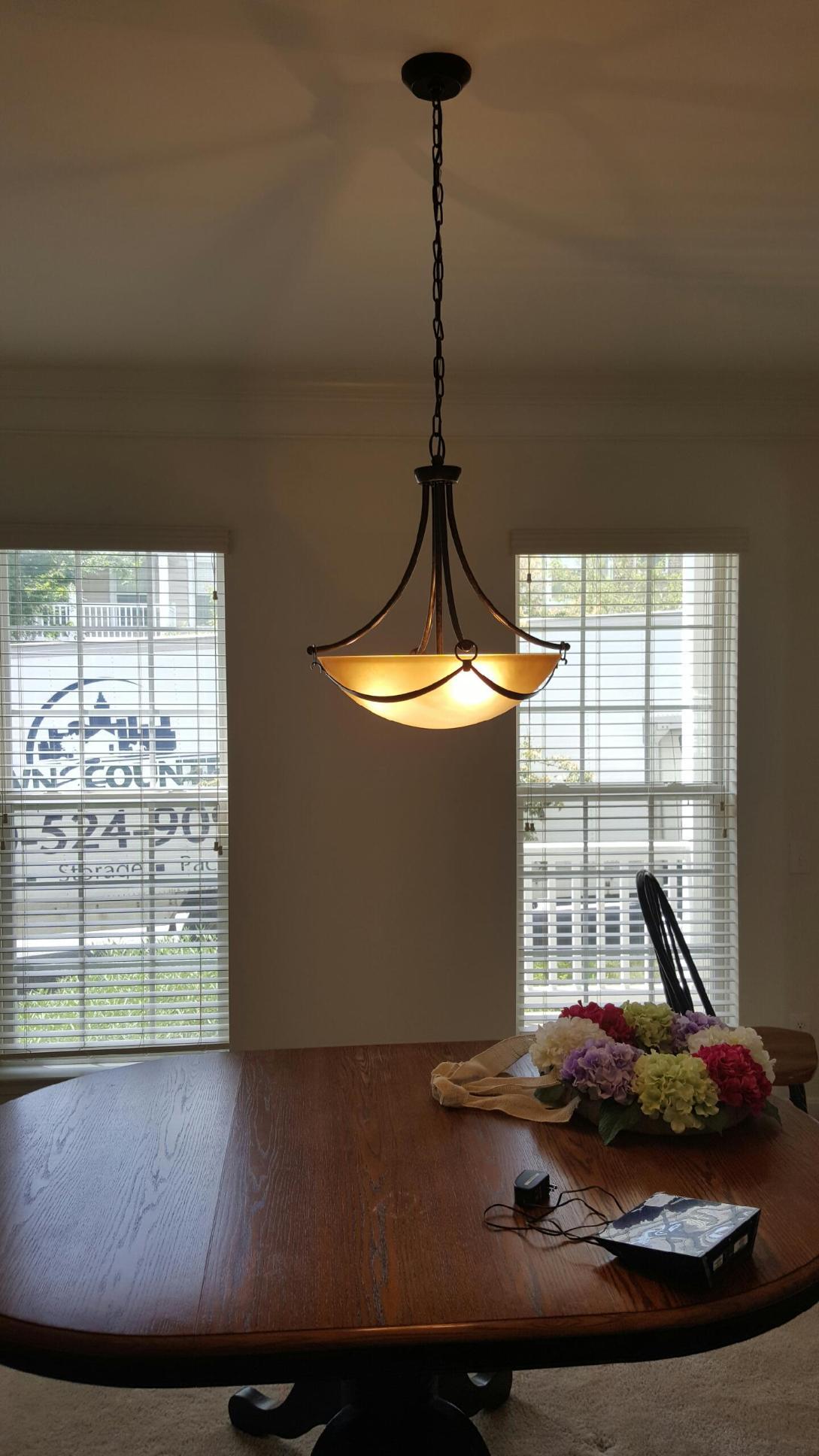bowl pendant light
