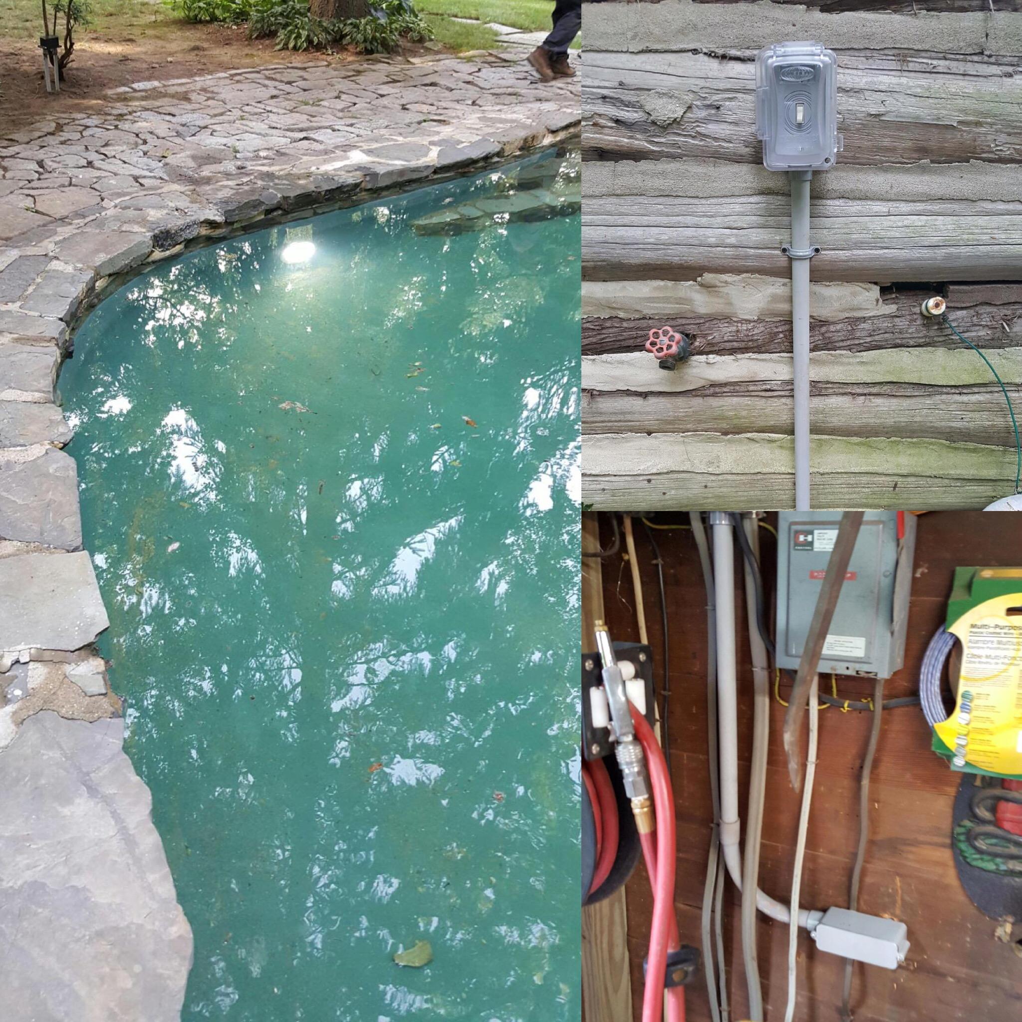 pool wiring