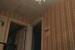 chandelier installation