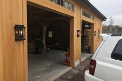 exterior garage lighting