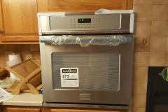 in-wall oven install